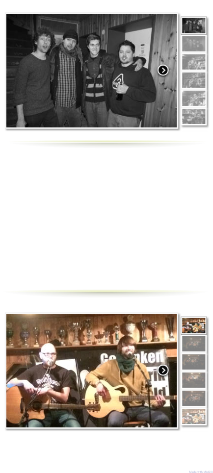 Made with MAGIX Herrengedeck Live am 20.2.2016 in Bortfeld Rüdiger Bierhorst Live am 20.2.2016 in Bortfeld   Groß & Artig und Falk Live am 5.3.2016 in Bortfeld